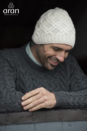 Super Soft Merino Wool Aran Hat