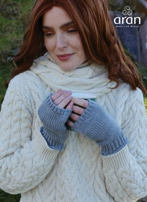 Aran Woollen Mills Fingerless Gloves
