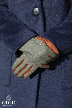 Aran Woollen Mills Women's Leather Gloves