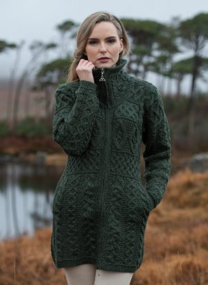Glendalough Double Collar Coat X4263