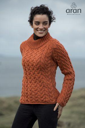 Aran Woollen Mills Crew Neck Sweater