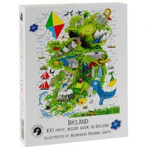 Puzzle Of Ireland Jigsaw Puzzle