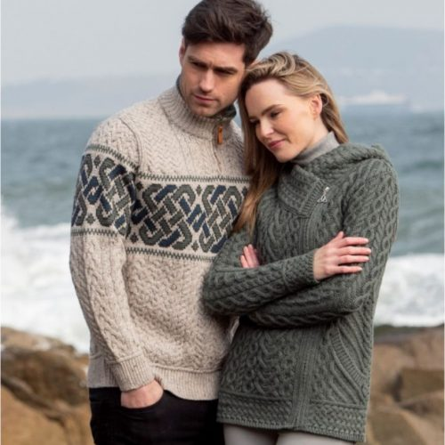 Click here to view more Aran Crafts Knitwear from Skellig Gift Store