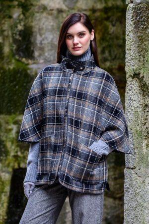 Mucros Dunloe Black Gray Jacket