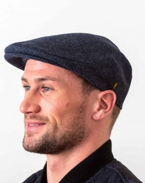 Irish Wool Navy Cap