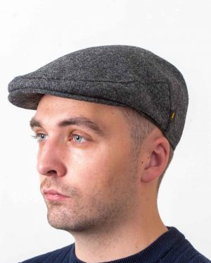 Irish Wool Clerical Gray Cap