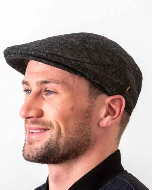 Irish Wool Clergy Gray Cap