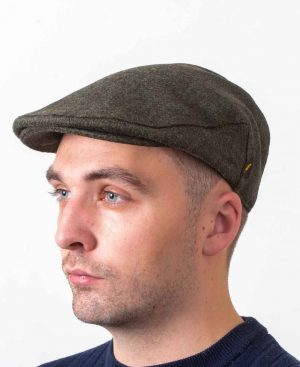 Irish Wool Loden Flat Cap