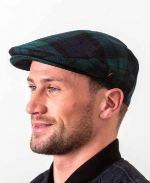 Irish Wool Blackwatch Flat Cap