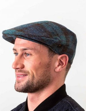 Antique Blackwatch Flat Cap