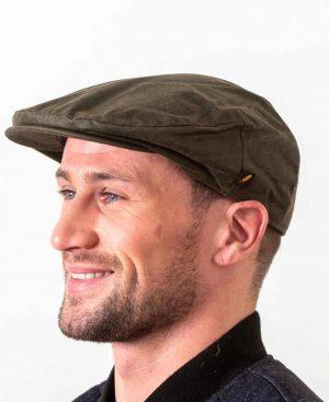 Wax Green Flat Cap