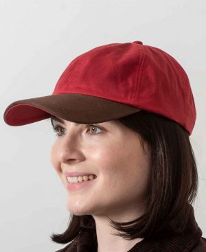 Wax Red Baseball Cap