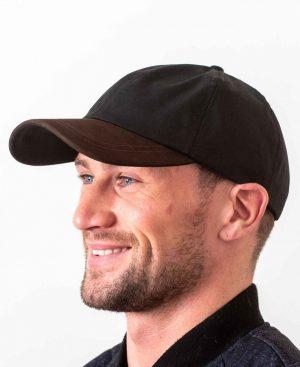 Wax Black Baseball Cap