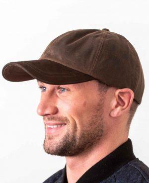 Wax Brown Baseball Cap