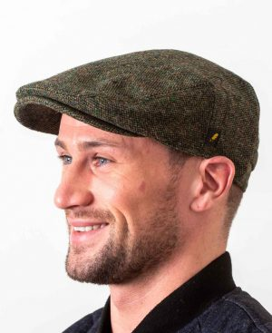 Dubliner Green Flat Cap