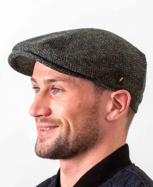 Dubliner Green Irish Cap