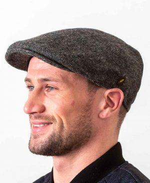 Dubliner Charcoal Flat Cap