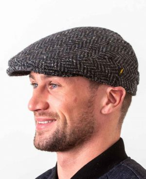 Dubliner Kerry Woollen Mills Gray Cap