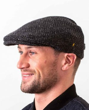 Dubliner Kerry Woollen Mills Charcoal Cap