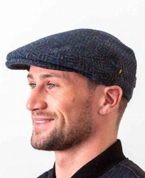 Dubliner Kerry Woollen Mills Blue Cap