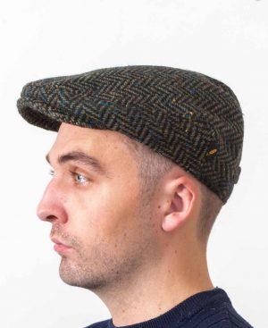 Dubliner Kerry Woollen Mills Green Cap