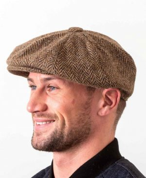 Gatsby Flat Cap Brown