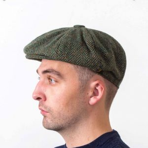 Gatsby Green Flat Cap