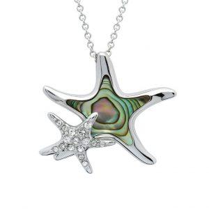 Starfish Mom & Baby Necklace