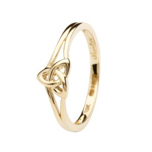 10K Gold Trinity Knot Ring