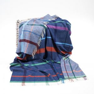 John Hanly Large Merino Lambswool Blanket