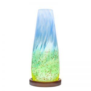 Handmade Irish Glass Horizon Table Lamp