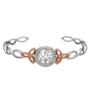 Celtic Tree of Life Cuff Bangle
