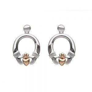 House of Lor Claddagh Earrings H30036