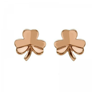 House of Lor Irish Rose Gold Shamrock H30021