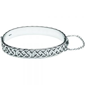 Silver Celtic Rope Bangle