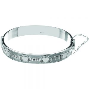 Mo Anam Cara Claddagh Bangle