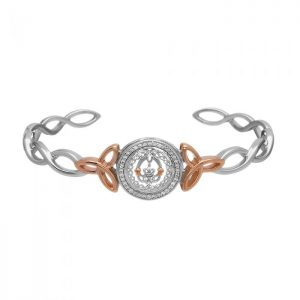 Claddagh Cuff Bangle