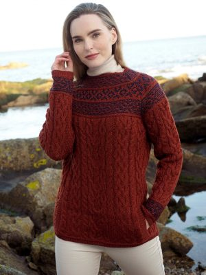 Aran Fairisle Sienna Sweater