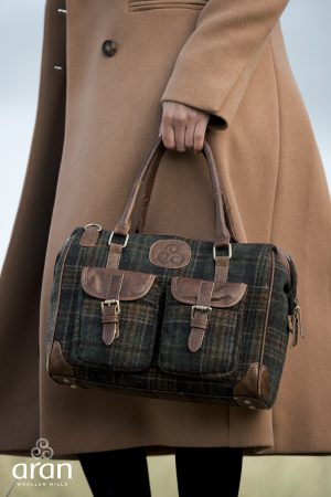Aran Woollen Mills Double Pocket Erin Bag