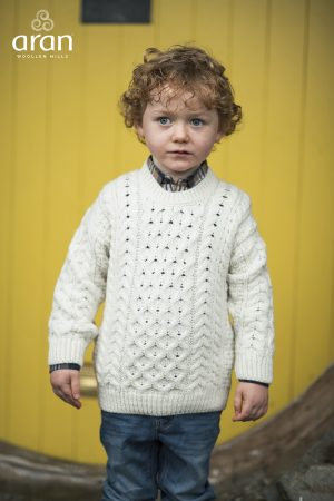 Kids Aran Sweater