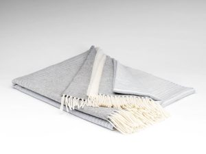 Mcnutt Misty Grey Ómbre Blanket