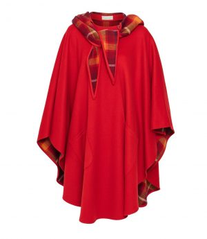 Jimmy Hourihan Classic Red Wool Walking Cape