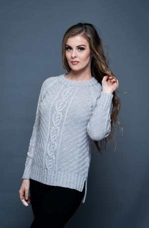 Aran Cashmere & Merino Fine knit Cloud Sweater
