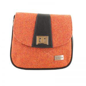 Sarah Mucros Orange Shoulder Bag
